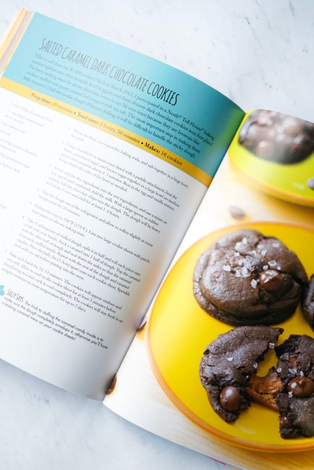 Sally's Baking Addiction Book Chocolate Caramel Stuffed Cookies