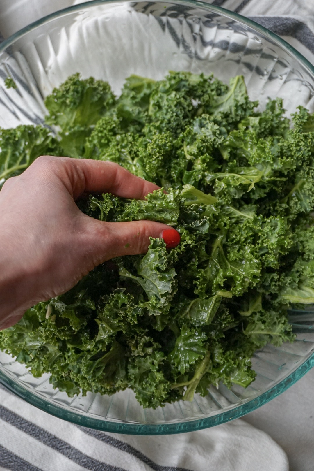 How to get the bitterness out of kale