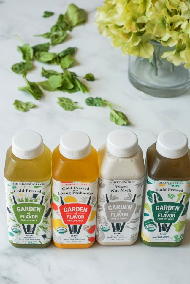 Garden of Flavor Cold Pressed Juices