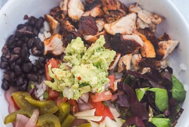 Copycat Chipotle Chicken Burrito Bowls