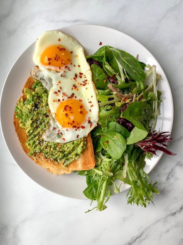 Sourdough Avocado Toast with Eggs