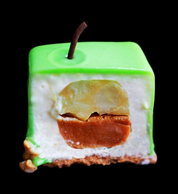 Green apple mousse dessert recipe