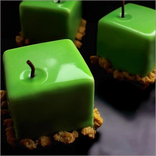 Granny Smith Apple Dessert with Caramel and Walnut base - Apcubique