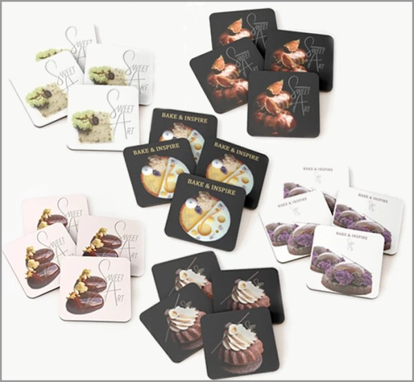 SweetArt Coasters ~ For You to Use and Inspire