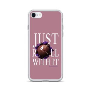 Just Roll With It Pink iPhone Case with Le Desir Dessert