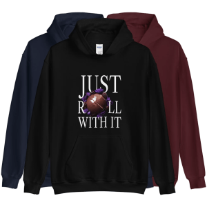 Just Roll With It Unisex Hoodie with Le Desir Dessert