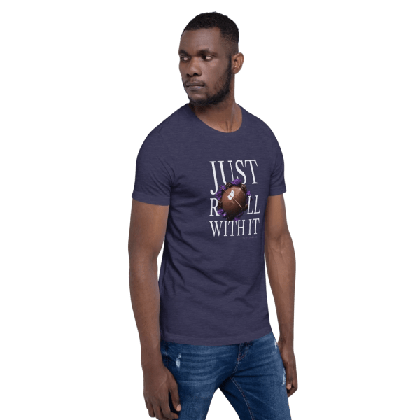 Just Roll with It Short-Sleeve Unisex T-Shirt with Le Desir Dessert
