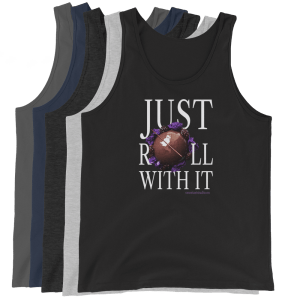 Just Roll With It Unisex Tank Top with Le Desir Dessert