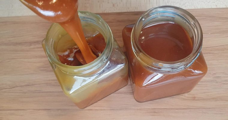 Homemade Caramel Sauce Recipe