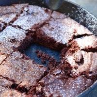 Skillet Cocoa Brownies
