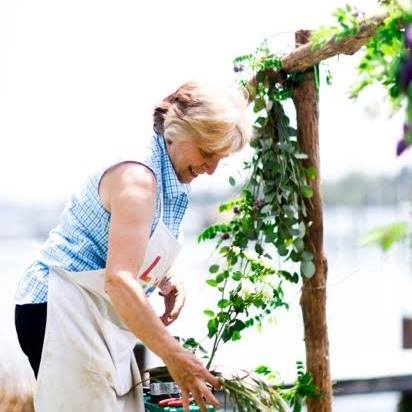 Nancy Beatty of Sweetbay Flowers, An event florist serving Eastern Shore