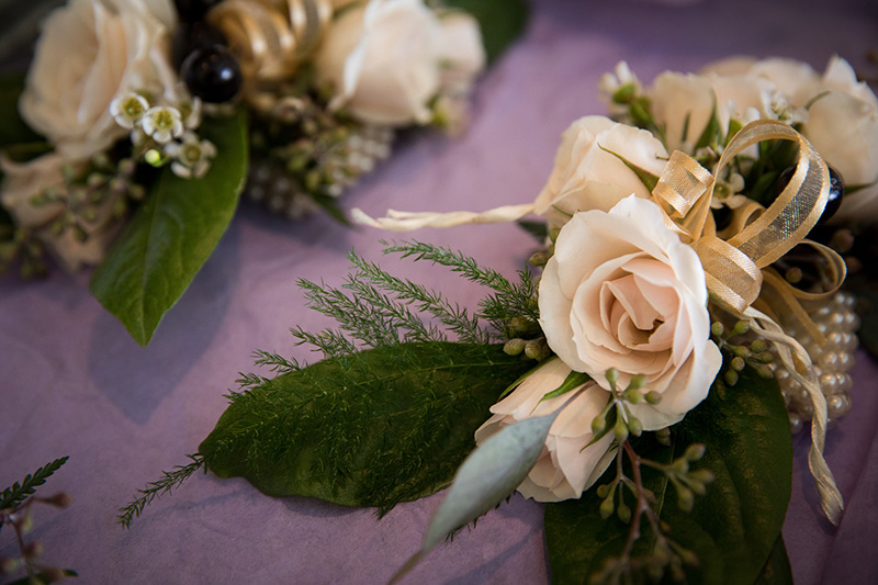 Romantic Boutonnière for classic Groom by Sweetbay Flowers | Eastern Shore Florist|