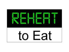 Reheat to Eat