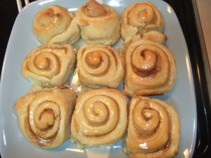 Recipe Swap – Cinnamon Rolls