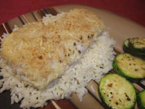 Parmesan-Crusted Cod