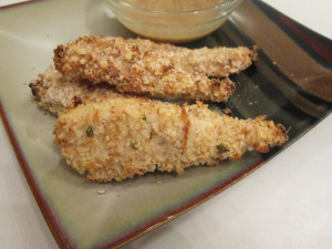 Maple Mustard Buttermilk Chicken Tenders