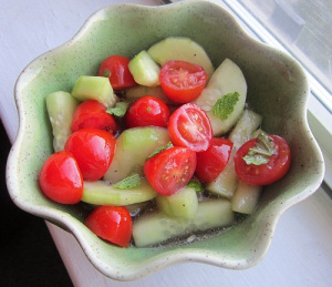 Recipe Swap: Tomato & Cucumber Salad