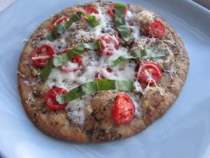 Margherita Pita Pizza