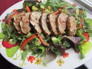Grilled Asian Pork Tenderloin Salad