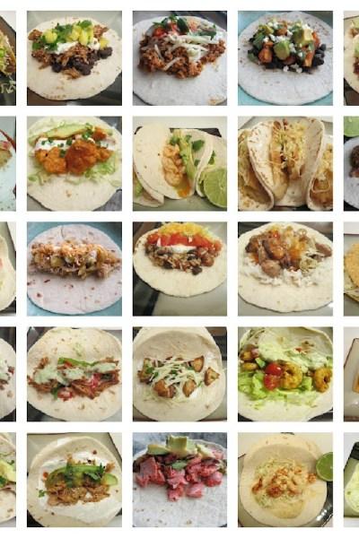 Taco Tuesday: 25 Tacos!