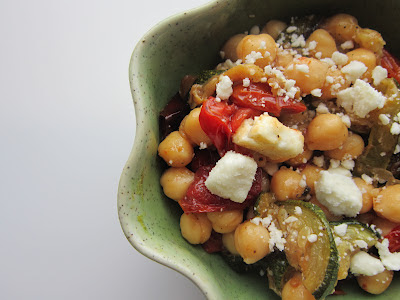 Recipe Swap: Warm Chickpea Salad