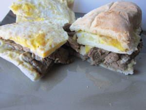 Sammich Saturday: Steak 'n' Egg