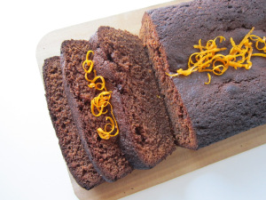 What's Baking: Chocolate Orange Loaf