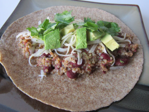 Taco Tuesday: Kidney Bean & Quinoa Tacos