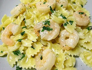 Herbed Shrimp & Pasta