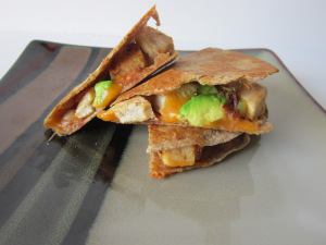 Sammich Saturday: Chicken, Bacon & Avocado Quesadilla
