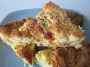 Secret Recipe Club: Bacon, Egg, and Cheese Scones