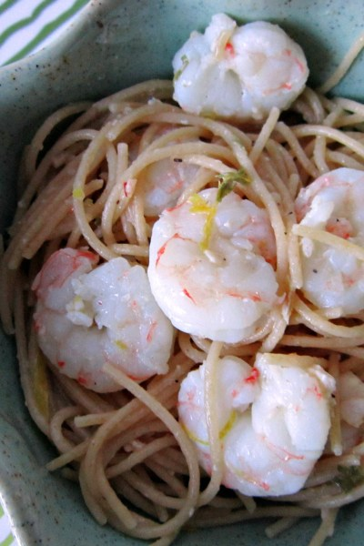 Recipe Swap: Lemon Pepper Shrimp Scampi