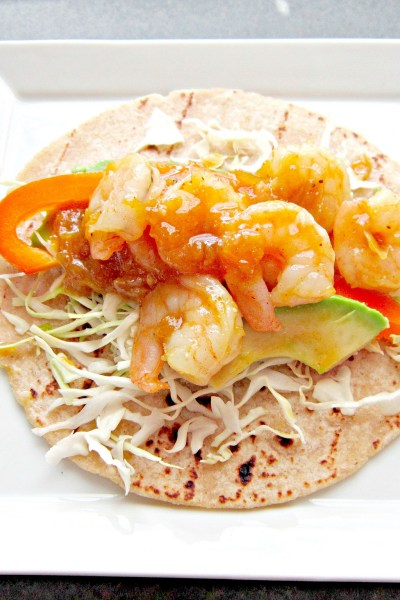 Taco Tuesday: Garlic Rosemary Citrus Shrimp Tacos