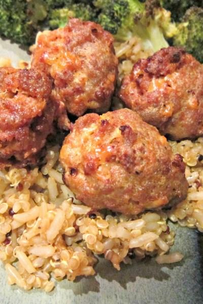 Pork & Chorizo Meatballs