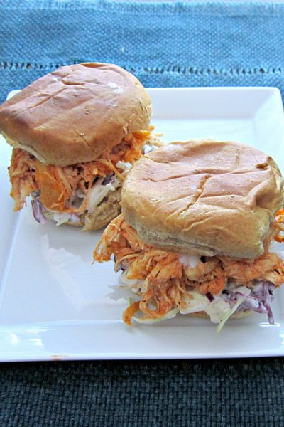 Sammich Saturday: Slow Cooker Buffalo Chicken Sliders