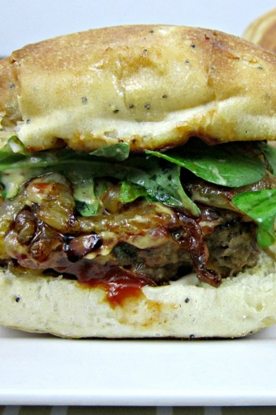 Sammich Saturday: Maple Mustard Venison Meatloaf Sandwiches
