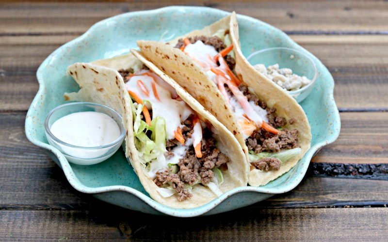 Taco Tuesday: Buffalo Venison Tacos
