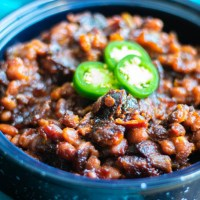 Jalapeno Bacon Baked Beans