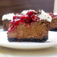Black Forest Cheesecake #SummerDessertWeek