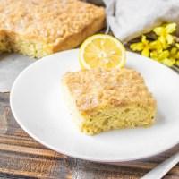 Lemon Zucchini Coffee Cake