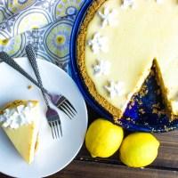 Lemon Icebox Pie #SummerDessertWeek