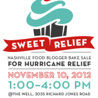 Sweet Relief Bake Sale for Hurricane Sandy Recovery