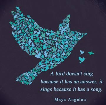 Bird, Maya Angelou