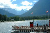 Boat Trip, Waterton to US