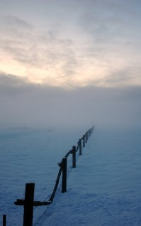 Fence-Snow-Blues-Sunset-680x1024