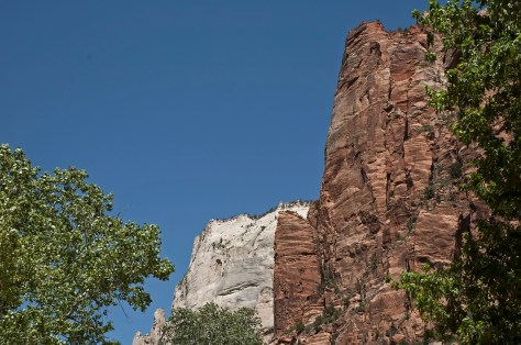 Zion, Red Rock, White Rock