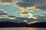 Sunset Clouds, Lodge at Whitefish Lake