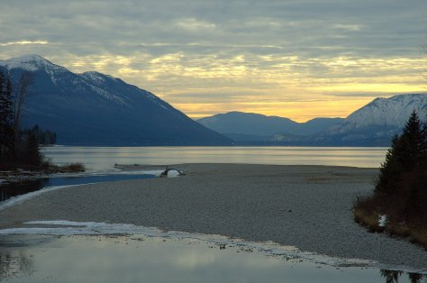 North Lake McDonald, Yellow Sky