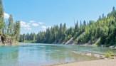 Summer, Middle Fork, Beach