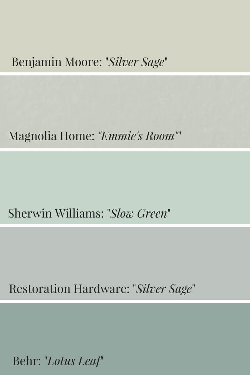 ideas for painting my living room paint colors with wood floors how to incorporate pinterest's 2018 color, sage green ...